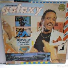 Discos de vinilo: MAXI SINGLE-PHIL FEARON AND GALAXY- EN FUNDA ORIGINAL AÑO 1984. Lote 183512012