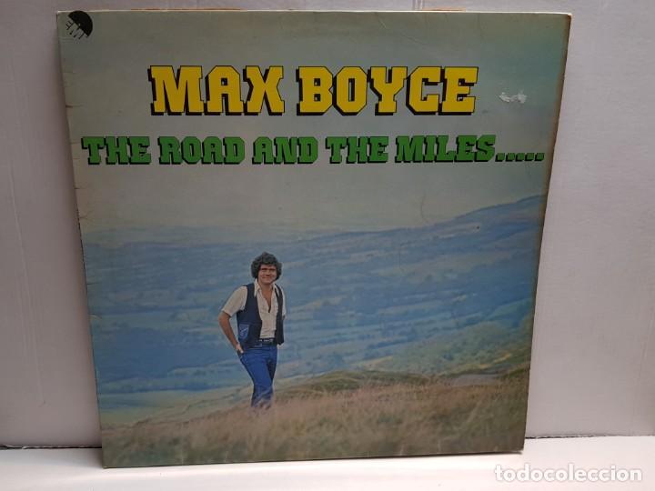 LP-MAX BOYCE- THE ROAD AND THE MILLES..EN FUNDA ORIGINAL AÑO 1977 (Música - Discos - LP Vinilo - Pop - Rock - New Wave Extranjero de los 80)