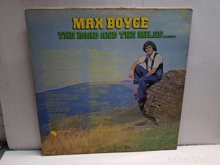 Discos de vinilo: LP-MAX BOYCE- THE ROAD AND THE MILLES..en funda original año 1977 - Foto 2 - 183512427