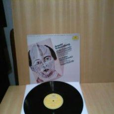 Discos de vinilo: ARNOLD SCHOENBERG, PIANO , VIOLIN CONCERTO.. Lote 183512568