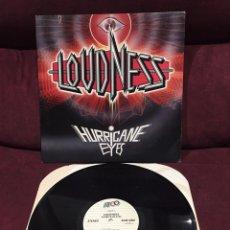 Discos de vinilo: LOUDNESS - HURRICANE EYES LP, 1987, USA. Lote 183513995