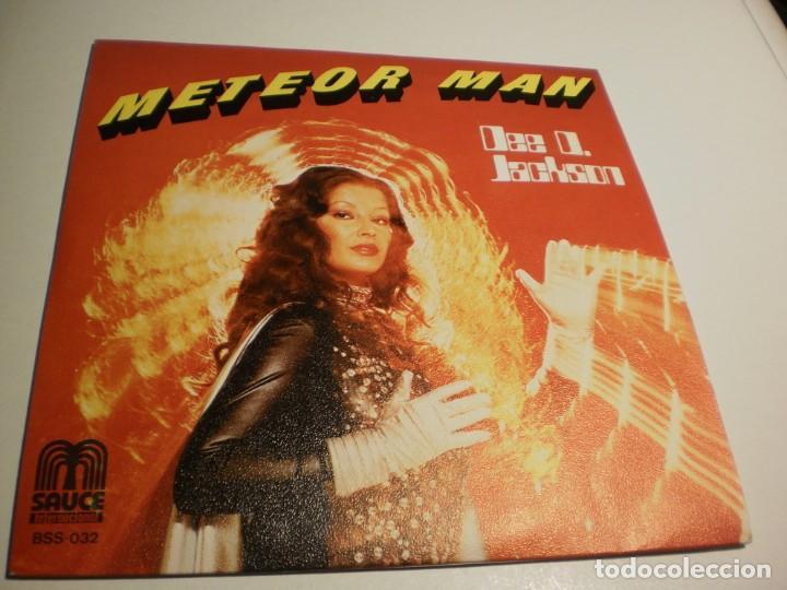 SINGLE. DEE D. JACKSON. METEOR MAN. GALAXI POLICE. SAUCE 1978 SPAIN (PROBADO Y BIEN, SEMINUEVO) (Música - Discos - Singles Vinilo - Pop - Rock - Extranjero de los 70)