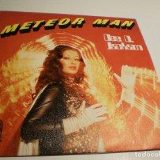 Discos de vinilo: SINGLE. DEE D. JACKSON. METEOR MAN. GALAXI POLICE. SAUCE 1978 SPAIN (PROBADO Y BIEN, SEMINUEVO). Lote 183514216