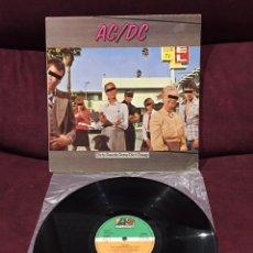Discos de vinilo: AC/DC - DIRTY DEEDS DONE DIRT CHEAP LP, REEDICIÓN, 1982, ESPAÑA. Lote 183518593
