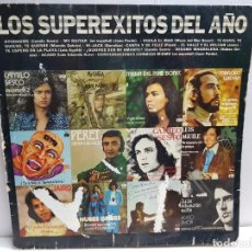 Discos de vinilo: LP-LOS SUPER EXITOS DEL AÑO-EN FUNDA ORIGINAL AÑO 1974. Lote 183519047