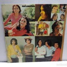 Discos de vinilo: LP-ASI CANTAN-VOLUMEM III EN FUNDA ORIGINAL AÑO 1974. Lote 183519533