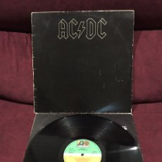 Discos de vinilo: AC/DC - BLACK IN BLACK LP, REEDICIÓN, 1982, ESPAÑA, EDICIÓN RARA!!. Lote 183520955