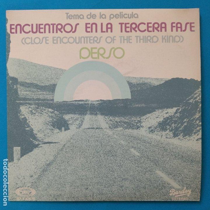 ENCUENTROS EN LA TERCERA FASE - 45 SPAIN PS - MINT * 1978 * BARCLAY 02.1306/6 (Música - Discos - Singles Vinilo - Bandas Sonoras y Actores)