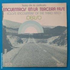 Disques de vinyle: ENCUENTROS EN LA TERCERA FASE - 45 SPAIN PS - MINT * 1978 * BARCLAY 02.1306/6. Lote 183522980