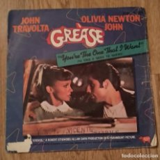 Discos de vinilo: SINGLE GREASE. Lote 183525102