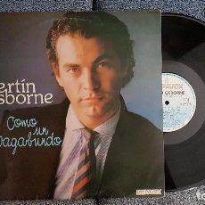 Discos de vinilo: BERTÍN OSBORNE - COMO UN BAGABUNDO.EDITADO POR HISPAVBOX. AÑO 1982. Lote 183525171