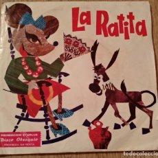 Discos de vinilo: SINGLE LA RATITA. Lote 183525477