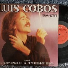 Discos de vinilo: LUÍS COBOS - VIENNA COCERTO - AÑO 1988. Lote 183525955
