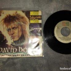 Discos de vinilo: DAVID BOWIE–UNDERGROUND . Lote 183526871