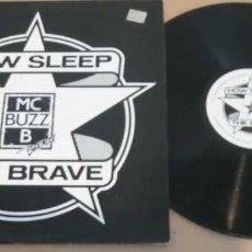 Discos de vinilo: MC BUZZ B / HOW SLEEP THE BRAVE / MAXI-SINGLE 12 INCH. Lote 183532461