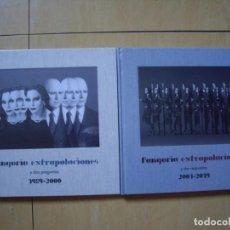 Discos de vinilo: FANGORIA 4 LPS, 2 LIBROS, 2 CDS EXTRAPOLACIONES PREGUNTAS Y RESPUESTAS DELUXE FIRMADOS PRECINTADOS. Lote 183538841