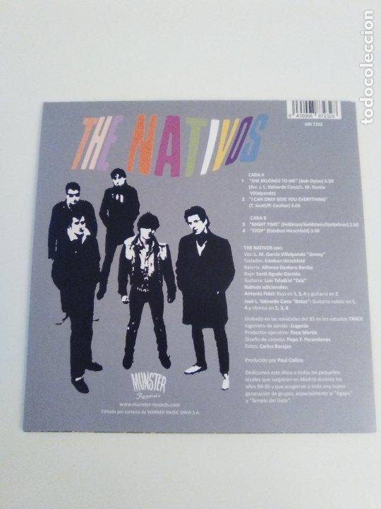 Discos de vinilo: THE NATIVOS She belongs to me + 3 ( 1985 MUNSTER REED ) - Foto 2 - 183543291