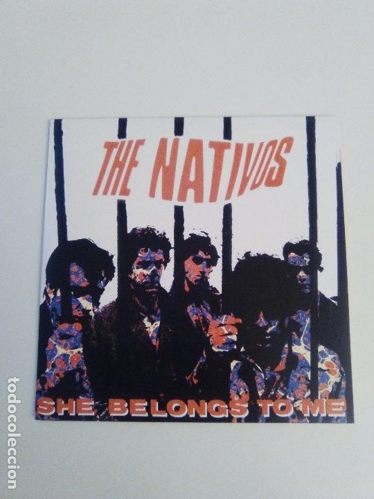 THE NATIVOS SHE BELONGS TO ME + 3 ( 1985 MUNSTER REED ) (Música - Discos de Vinilo - EPs - Grupos Españoles de los 70 y 80)