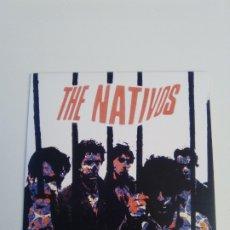 Discos de vinilo: THE NATIVOS SHE BELONGS TO ME + 3 ( 1985 MUNSTER REED ). Lote 183543291