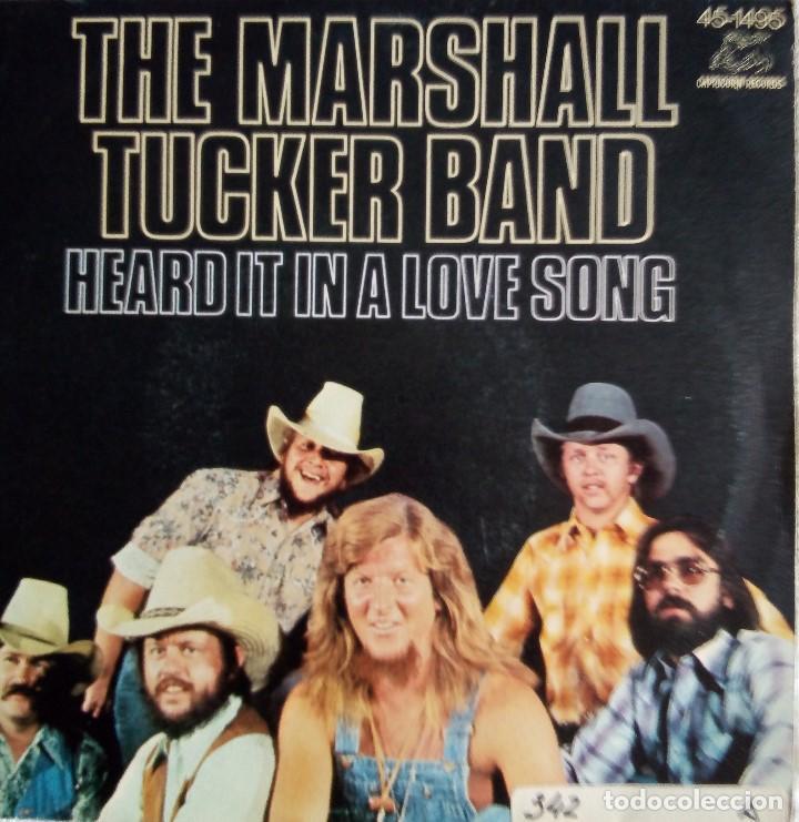 THE MARSHALL TUCKER BAND: HEARD IN A LOVE SONG (Música - Discos - Singles Vinilo - Country y Folk)