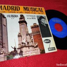Discos de vinilo: ESTEBAN DE LOS REYES&ORQUESTA SEGALI EL LOROLO/CORTANDO UN PALO +2 EP 1969 CALANDRIA PROMO MADRID. Lote 183549701
