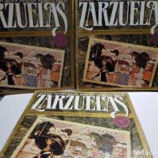 Discos de vinilo: LOTE LP-ZARZUELAS- EN FUNDA ORIGINAL AÑO 1984. Lote 183550943