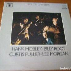 Discos de vinilo: LP DOBLE : HANK MOBLEY - ED SPAIN 1981 2 DISCOS PORTADA DOBLE. Lote 183551531