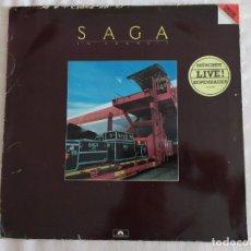Discos de vinilo: SAGA – IN TRANSIT. Lote 183554136