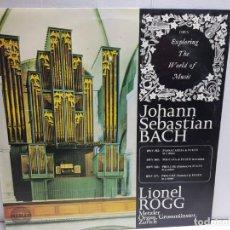 Discos de vinilo: LP-JOHAN SEBASTIAN BACH-ORGAN WORKS EN FUNDA ORIGINAL . Lote 183554277