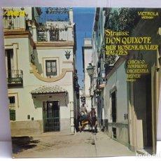 Discos de vinilo: LP-STRAUSS- DON QUIXOTE EN FUNDA ORIGINAL 1971. Lote 183571235