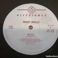 Discos de vinilo: MARY WELLS / MY GUY / MAXI-SINGLE 12 INCH. Lote 183573528