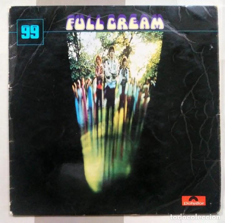 LP CREAM FULL CREAM NINETY NINE POLYDOR 1966 MADE IN ENGLAND (Música - Discos - LP Vinilo - Grupos Españoles 50 y 60)