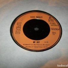 Discos de vinilo: ELVIS PRESLEY. - MY BOY - EDICIÓN 1974.- RCA. ORIGINAL EUROPEO , CREO INGLES LA CARA B - LOVIN ARMS. Lote 183573918