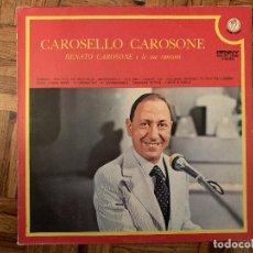 Discos de vinilo: RENATO CAROSONE – CAROSELLO CAROSONE (RENATO CAROSONE E LE SUE CANZONI) SELLO: PENNY . Lote 183574812