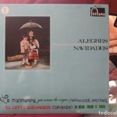 Discos de vinilo: ALEGRES NAVIDADES VOL.1 - VILLANCICOS - FONTANA. Lote 183577517
