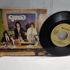Discos de vinilo: SINGLE-TEQUILA-ROCK AND ROLL EN LA PLAZA DEL PUEBLO EN FUNDA ORIGINAL AÑO 1978. Lote 183578922
