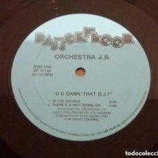 Discos de vinilo: ORCHESTRA J.B. / IN THE GROOVE / MAXI-SINGLE 12 INCH. Lote 183579425
