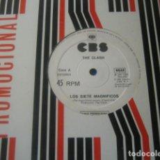 Discos de vinilo: THE CLASH - ADAM & THE ANTS ********** SUPER RARO MAXI PROMOCIONAL CBS ESPAÑA 1981. Lote 183580486