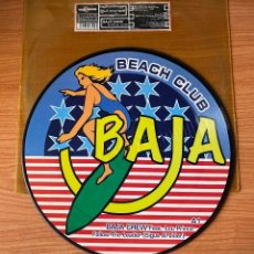 Discos de vinilo: BAJA CREW BAJA BEACH CLUB // SIGUE AL LÍDER + YOU TO ME ARE EVERYTHING + SWEET BAJA LOVE. Lote 183584045