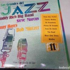 Discos de vinilo: LOS GRANDES DEL JAZZ NUMERO 11 BUDDY RICH BIG BAND, STEVE MARCUS, DANNY HAYES, BOB MINTZER. Lote 183584528