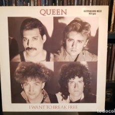 Discos de vinilo: QUEEN - I WANT TO BREAK FREE (EXTENDED MIX). Lote 183585238