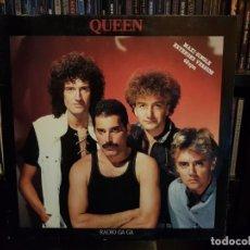Discos de vinilo: QUEEN - RADIO GA GA. Lote 183585665
