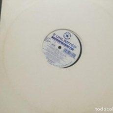 Discos de vinilo: 2 UNLIMITED - NO LIMIT . Lote 183585758