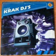 Discos de vinilo: KRAK DJ'S // PHANTOM // MAXI SINGLE 12'. Lote 183587461