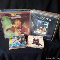 Discos de vinilo: LOTE DE 86 VINILOS Y SINGLES - 48 LP, ALGUNOS DOBLES Y 38 SINGLES - VARIOS GENEROS DE MUSICA. Lote 183588353