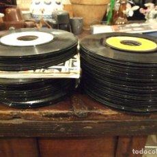 Discos de vinilo: GRAN LOTE DE SINGLES 80 SIN CARATULA - MUSICA VARIADA ANTERIOR A LOS 80. Lote 149639454
