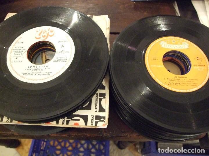 Discos de vinilo: GRAN LOTE DE SINGLES 80 SIN CARATULA - MUSICA VARIADA ANTERIOR A LOS 80 - Foto 2 - 149639454