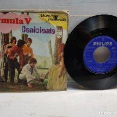Discos de vinilo: SINGLE-FORMULA V-CENICIENTA EN FUNDA ORIGINAL AÑO 1969. Lote 183594721