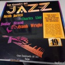 Discos de vinilo: LOS GRANDES DEL JAZZ NUMERO 19 KEITH JARRETT, CHARLES LLOY, DOLLAR BRAND, FRANK WRIGHT. Lote 183595335