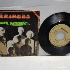 Discos de vinilo: SINGLE-BRINCOS-OH MAMA EN FUNDA ORIGINAL AÑO 1969. Lote 183596458
